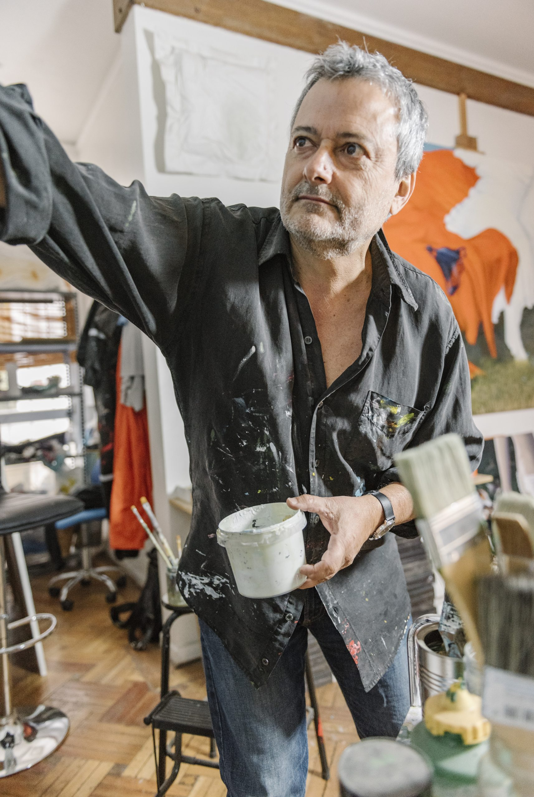 visual artist Guillermo del Valle