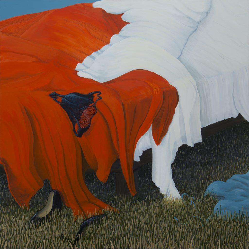 Sunrise (acrylic on canvas 150 x 150 cm)