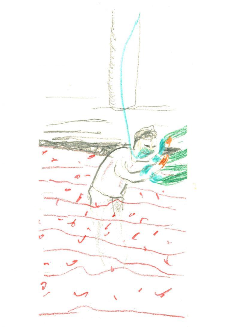 Registros del Covid obra del artista visual Guillermo del Valle