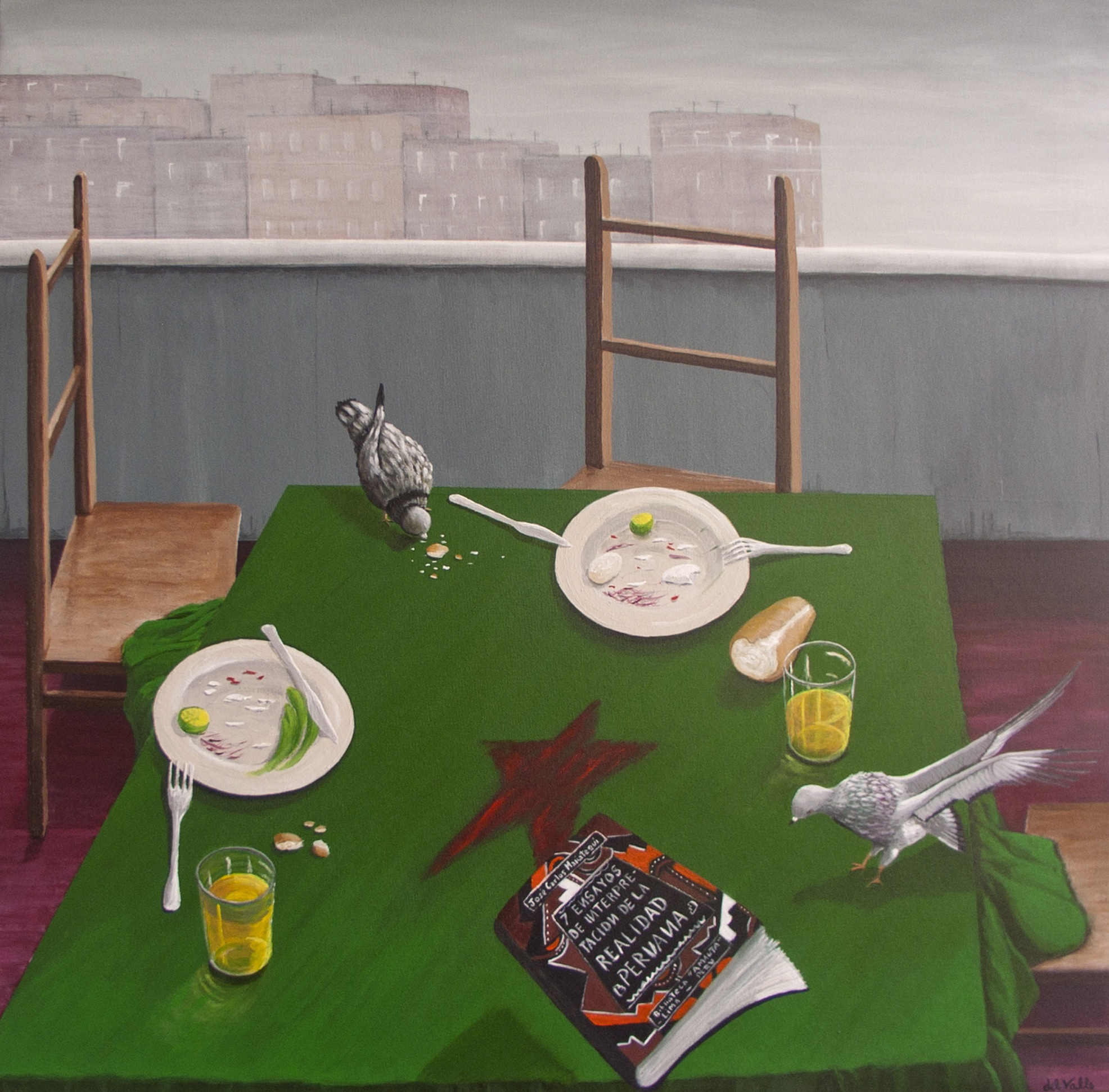 work of visual artist Guillermo del Valle