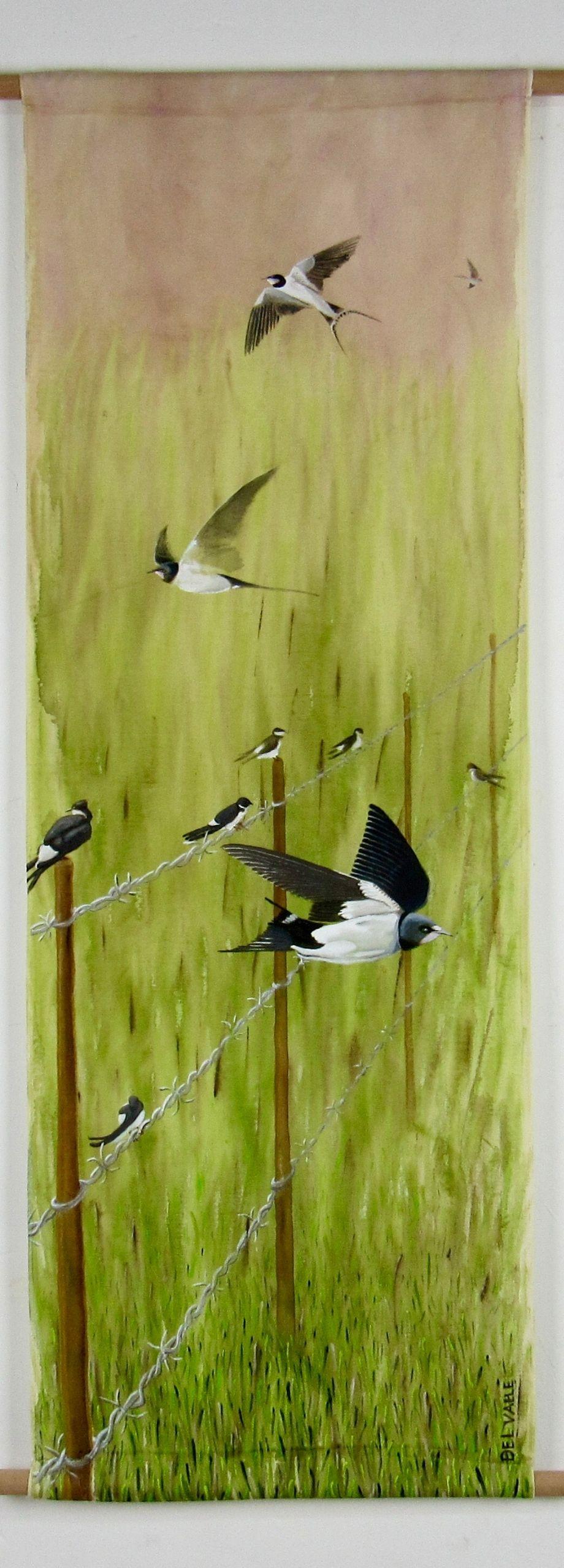 Chilean swallow bird (135x45 cm)