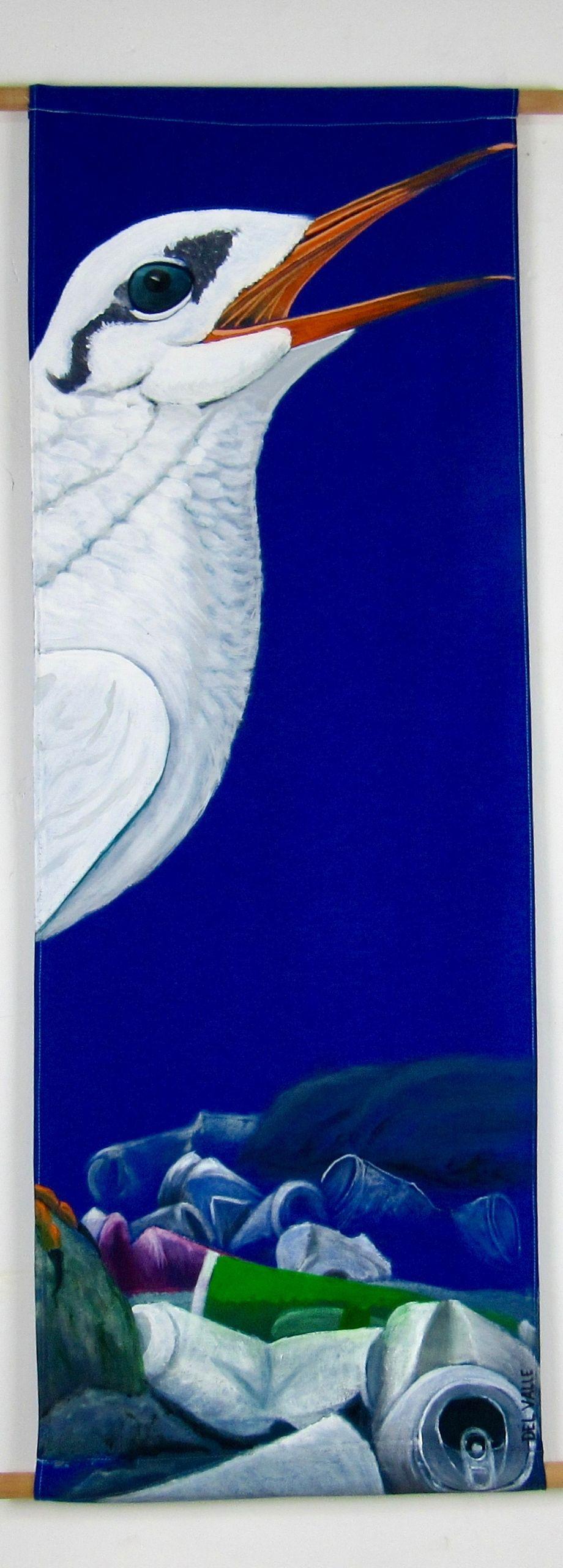 Piquerito tern bird (135x45 cm)