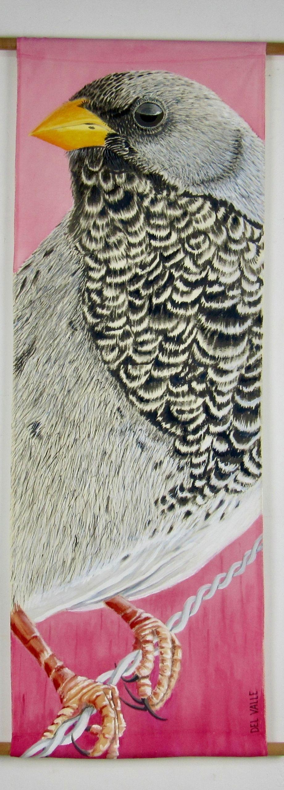 Yal common bird (135x45 cm)
