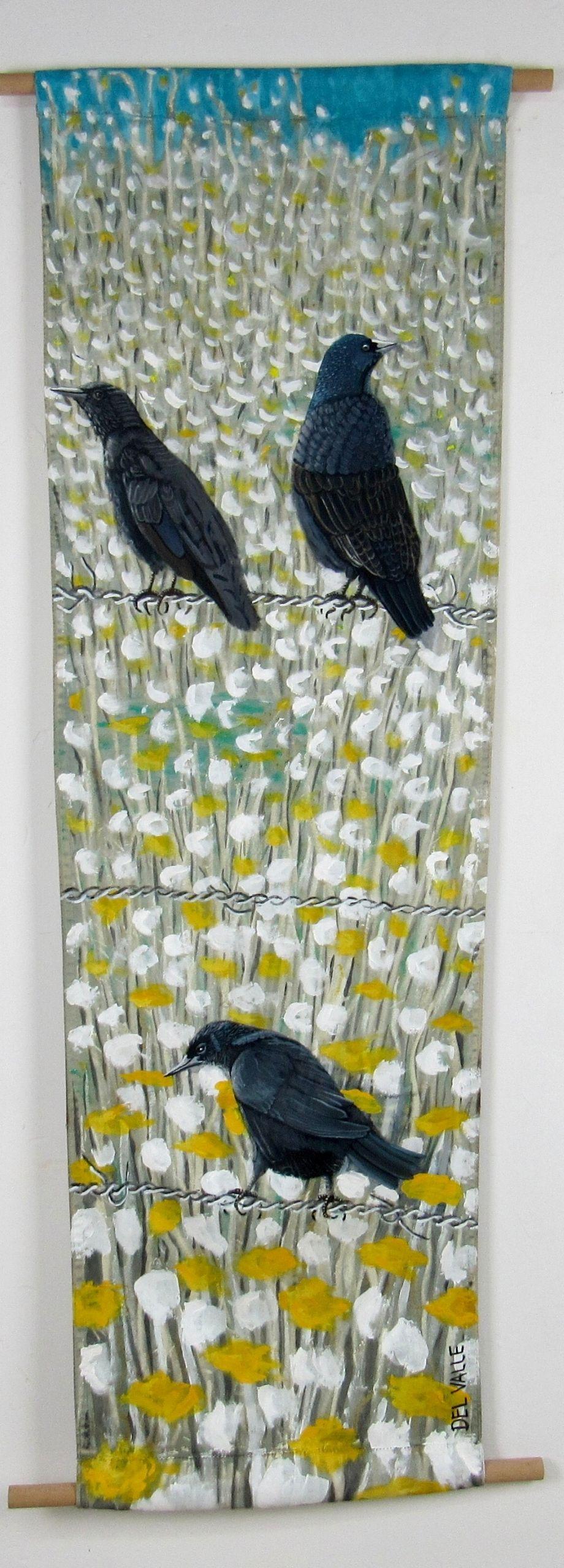 Thrush bird (135x45 cm)